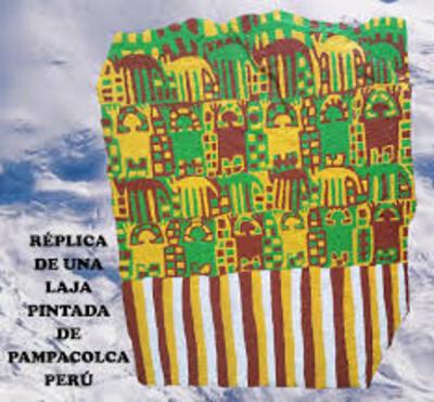 Les dalles peintes de Pampacolca
