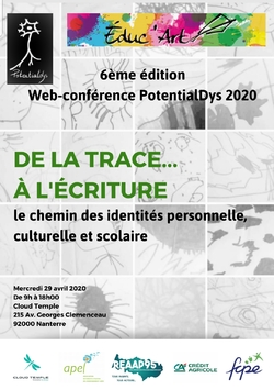 """Conférence """"De la trace à l'écriture, le chemin des identités personnelle, culturelle et scolaire"""""""