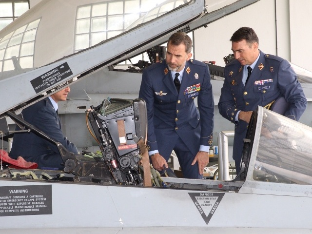 A la base aérienne