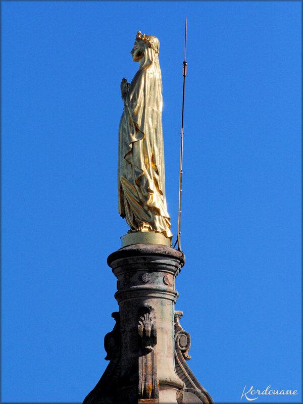 Photo de statues extérieures (N.D. de Verdelais)