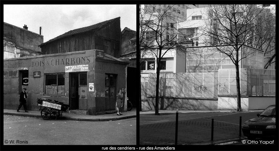 Belleville, passé/présent : sur les traces de Willy Ronis.