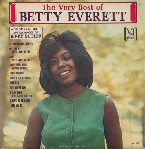 "Betty Everett : Album "" The Very Best Of Betty Everett "" Vee-Jay Records VJLP-1122 [ US ]"