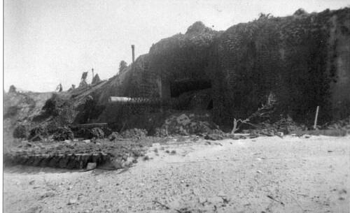 Les positions d'artilleries lourdes, dernière partie