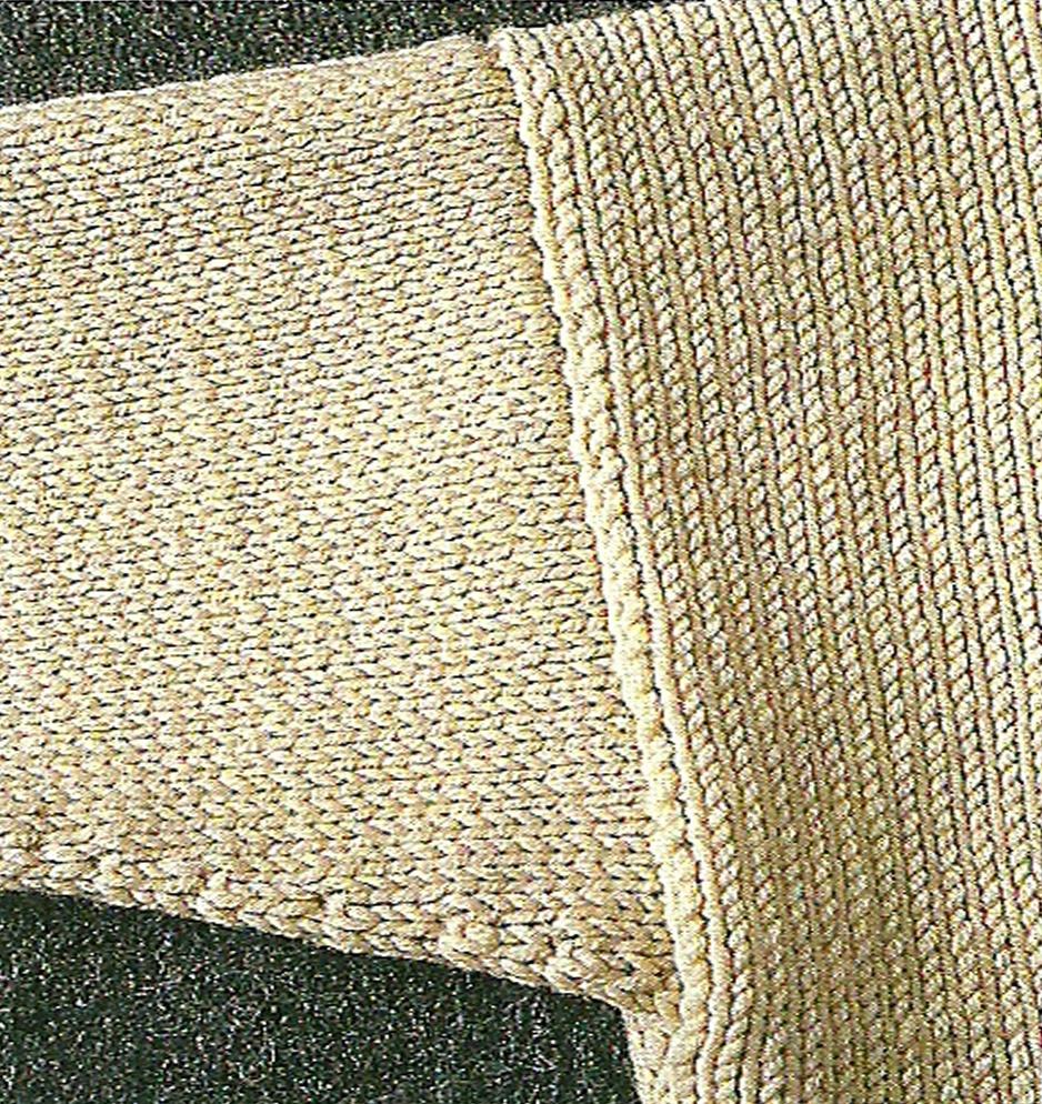 tricot emmanchures