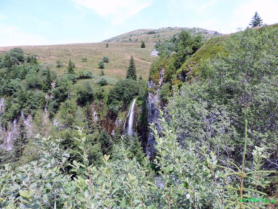 la grande cascade du Mont Dore (63)