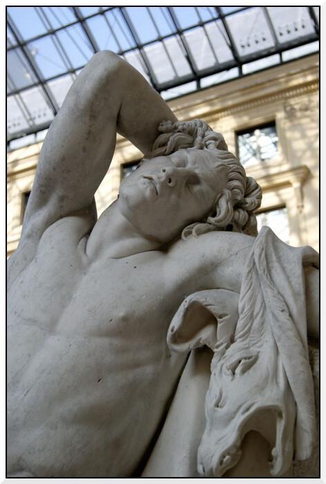 Exposition Bouchardon au Louvre.