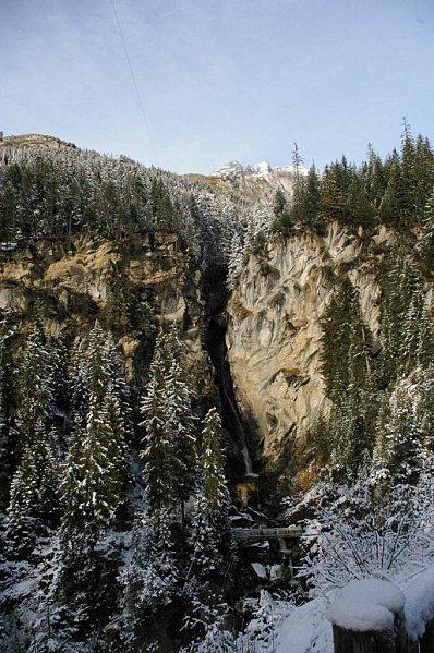 Pralognan la Vanoise ( Cascade de la Fraîche )