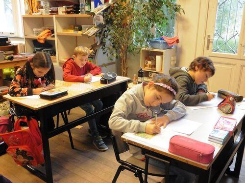 Atelier d'écriture en lige