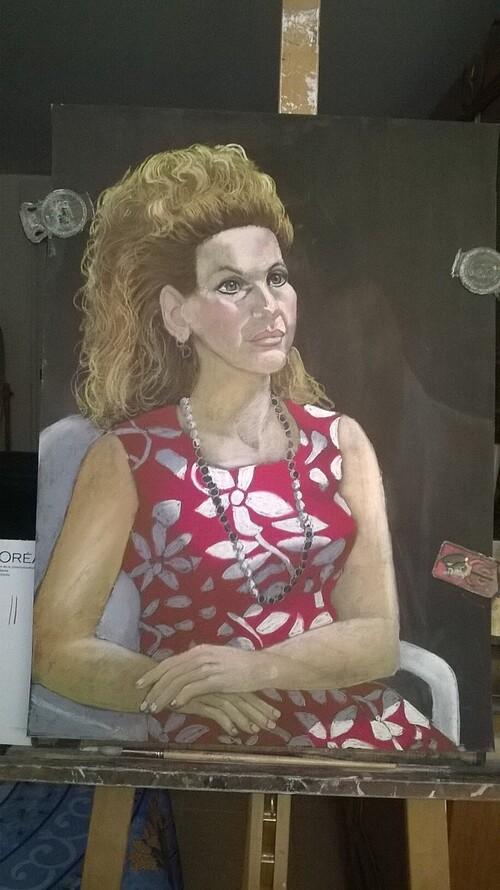 Vendredi - Hélène, portrait au pastel (3)