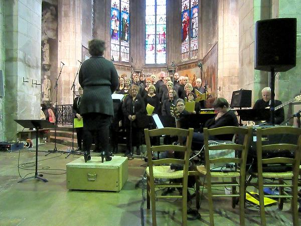 Un magnifique concert de Gospels a été donné à l'église Saint-Nicolas de Châtillon sur Seine