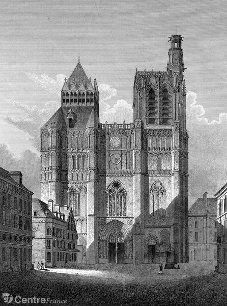 La tour de plomb St-Etienne (Sens)