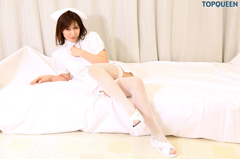 WEB Gravure : ( [TopQueen] - |2016.04.18 @Nurse| Midori Hinata/日向碧 )