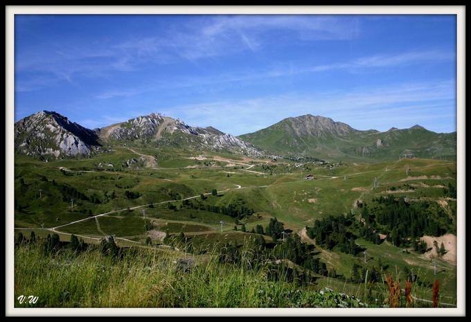 Montagne : la Plagne