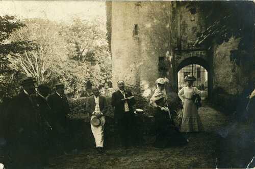 Léon Fayet, Jean Puel, Louis Moulin