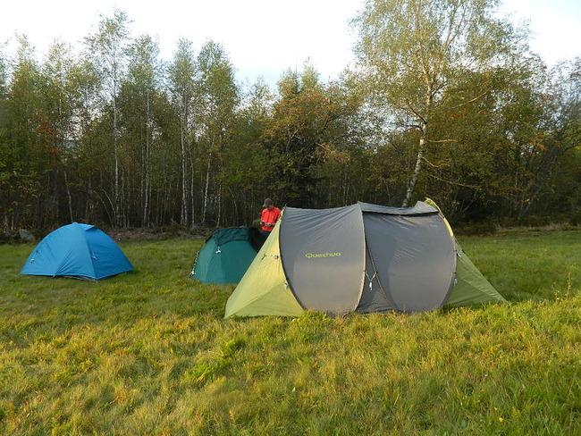 Randonner avec sa tente