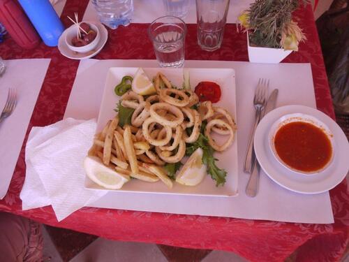 Calamars frit pour tous