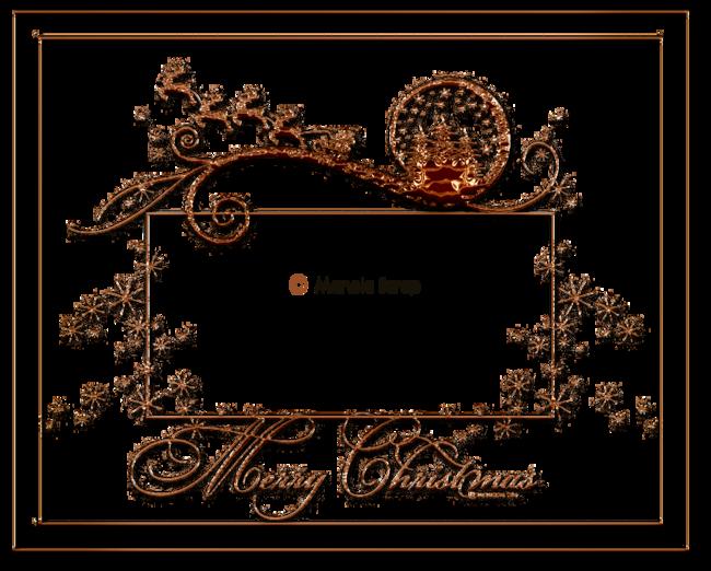 Cadres de Noel transparent page 2