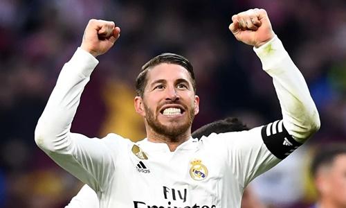 Sergio Ramos chỉ muốn giải nghệ ở tại Real Madrid