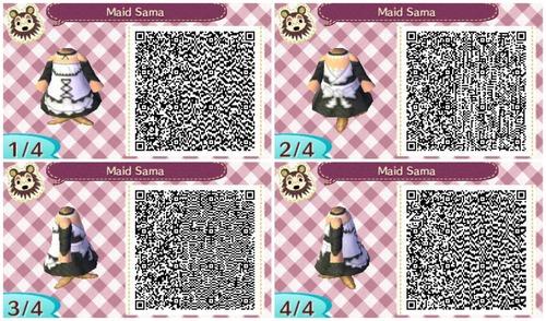 QR code maid sama