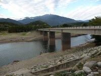 pont à la confluence de la Lentilla et de la Têt