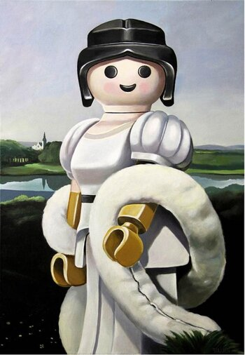 Playmobil Art