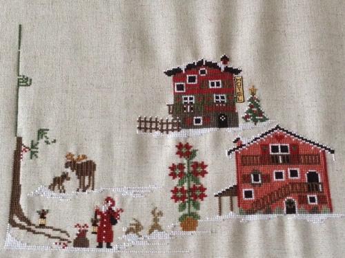 Sal Christmas Village - 3ème objectif.