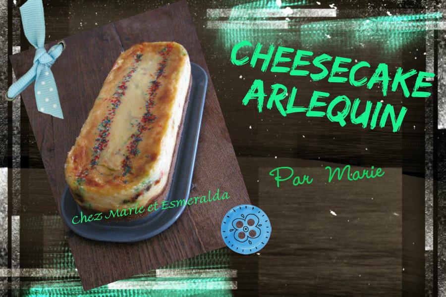 Cheesecake aux bonbons arlequin - Rétrospective 7