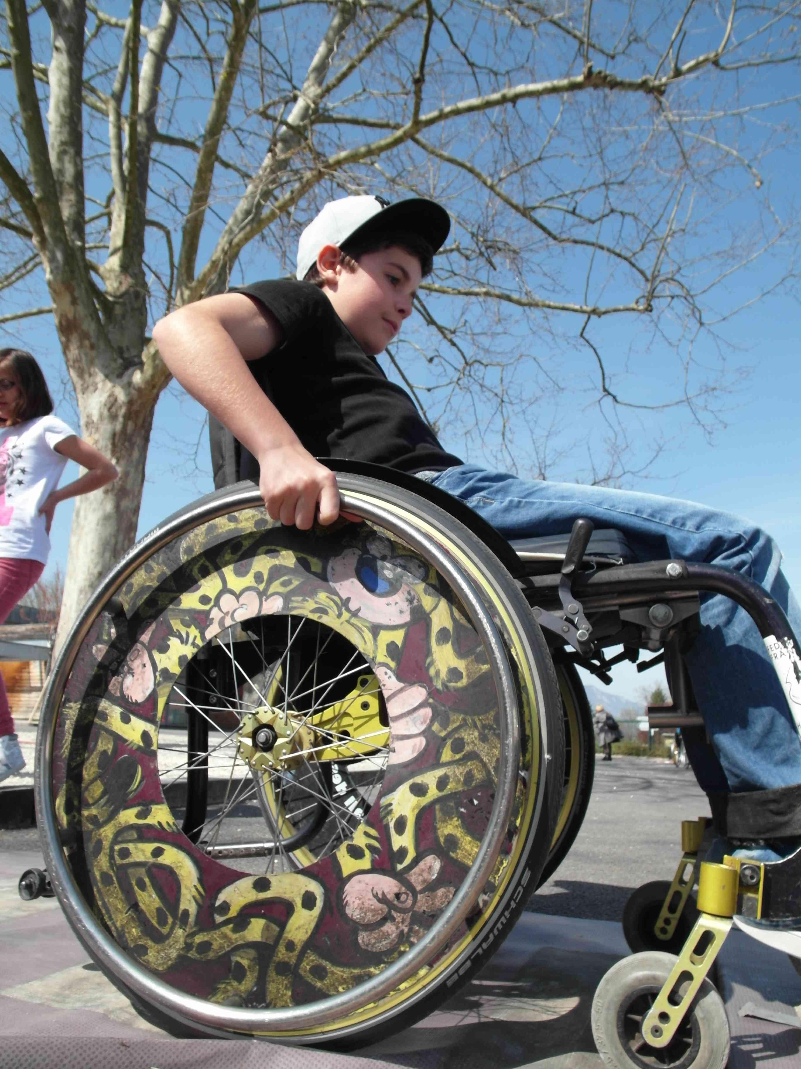 rencontre personne en fauteuil roulant