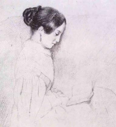 2-Femmes lisant-Peintures 19eme