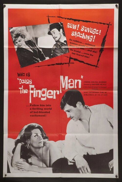LE DOULOS THE FINGERMAN BOX OFFICE USA 1964