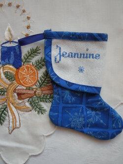 Mini botte pour JEANNINE