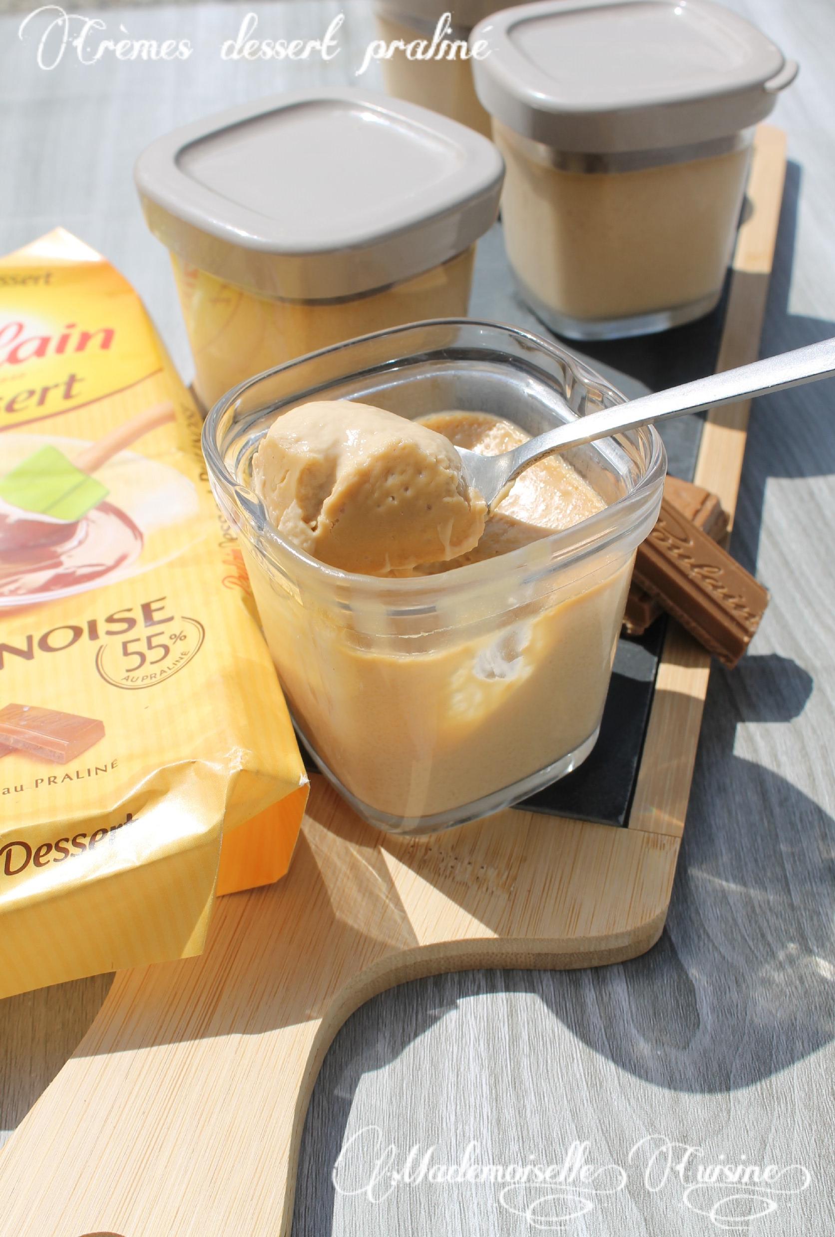 Creme Dessert Facon Creme Mont Blanc A La Pralinoise A La Multi