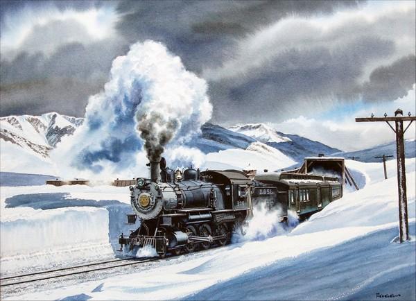 Peinture de : Howard Fogg