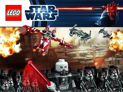 Les Nouveaux fonds d'écran Lego Star Wars