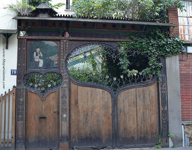 """Balade champêtre """"Cité Bauer"""" Paris 14ème"""
