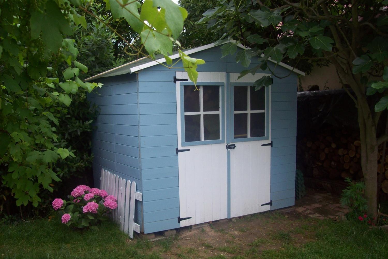 une cabane de p cheur dans le jardin les trouvailles de karinette. Black Bedroom Furniture Sets. Home Design Ideas