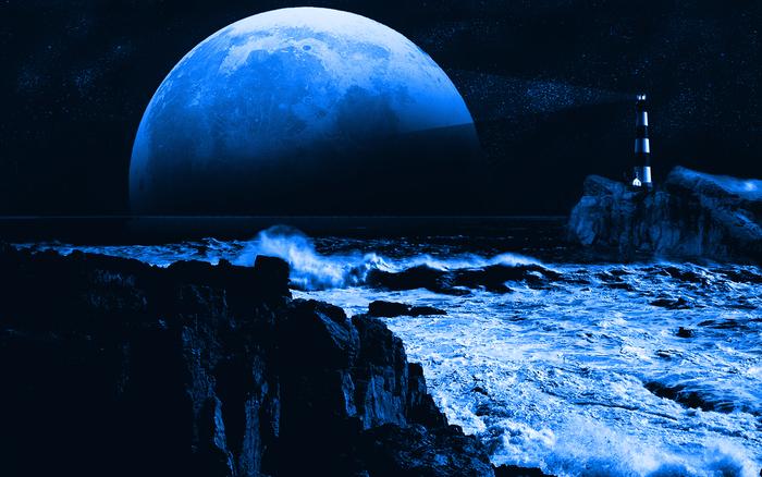 Bkue Moon