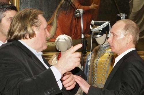 Gérard Depardieu citoyen russe - Poutine tiens sa promesse