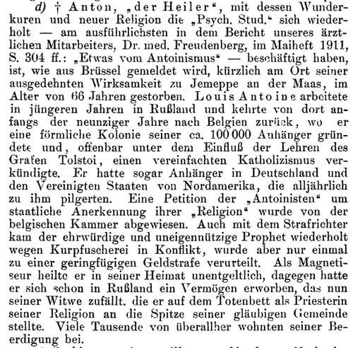 Anton der Heiler (Psychische Studien-Heft 8-August 1912)