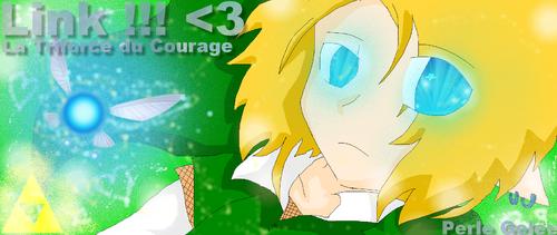 Dessin de mon Link chou !! <333