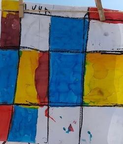 Mondrian avec les GS de J.