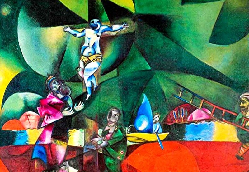 Chagall /3 /                            1911: le cubisme !