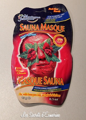 montagne jeunesse, sauna, masque, red hot earth