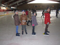 La patinoire des CM