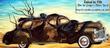 Tube voiture habillée Dali