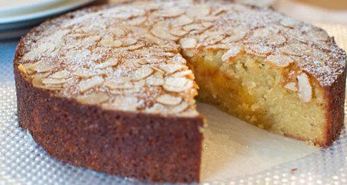 Le gâteau aux amandes
