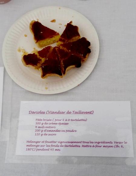 Les dernières journées sur la gastronomie au Moyen-Âge, au château de Montigny sur Aube, ont eu un beau succès...