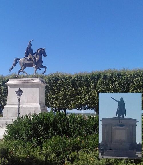 MONTPELLIER OUEST, promenade du Peyrou