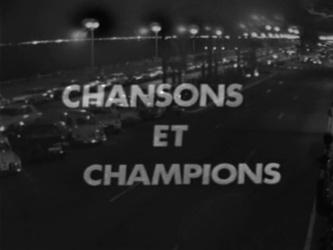 28 juin 1969 / CHANSONS ET CHAMPIONS