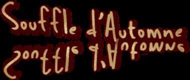 *** Souffle d'Automne - fahion.graph ***
